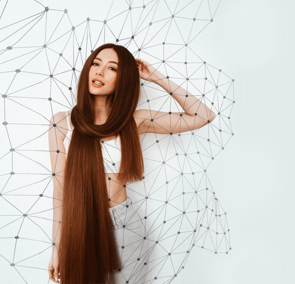 How to speed up long hair