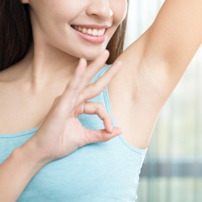 Causes of black armpits